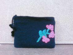 Monedero crochet.Tejido por Violeta Navarro