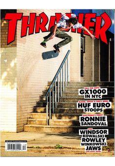 Thrasher Magazine-2016 - Evan Smith