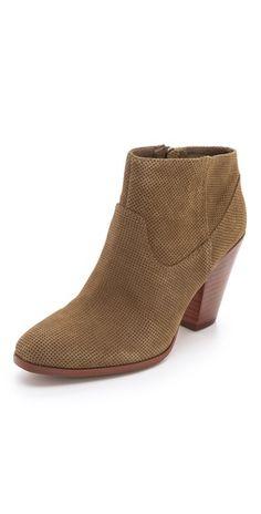 Love chunky heel booties