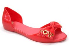 Mel Fresh Bow Jelly Shoes