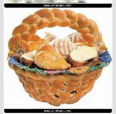 3 Different Edible Bread Baskets