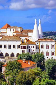 Tha Palácio Nacional de Sintra (Palácio Nacional de Sintra), Portugal |  32 Lugares Stupendous em Portugal cada amante do curso deve visitar
