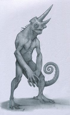 Chameleon by Mavros-Thanatos.deviantart.com on @deviantART