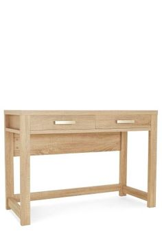 Buy Cuba Oak® Console from the Next UK online shop Corner Dressing Table, Bedroom Dressing Table, Dining Bench, Luxury, Uk Online, Cuba, Console, Stuff To Buy, Furniture