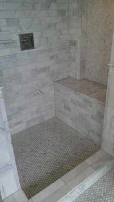 Tile shop bathroom