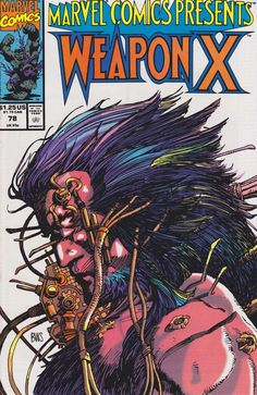 Marvel Comics Presents # 78 by Barry Windsor-Smith