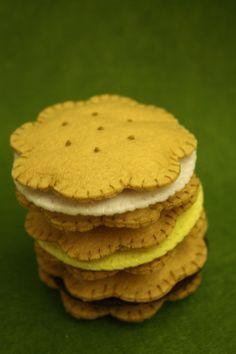 really cute felt cookies