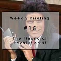 Weekly Briefing #15: Unfrozen Caveman Financial Adviser is Here.  If the dizzying markets are making you blue, cheer up — there's a bull market in fintech. Unfortunately, there's also a booming market in fintech bull.  We try to sniff out the difference, and this week our efforts lead us to a fintech charm offensive by banks and Microsoft, a zinger from Zenefits, a financial caveman from the pre-robo era, and a company poised to capitalize on the current global credit turmoil. #Fintech…