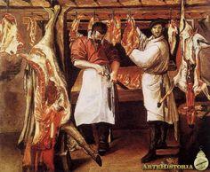 14. Carnicería. Annibale Carracci. 1585.