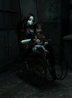 Felina, bonequinha macabra