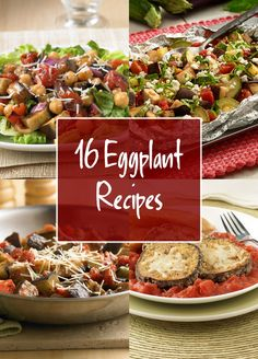 Hearty and versatile, eggplant is delicious as a side dish or as a main course. These easy eggplant recipes, like Fire-Roasted Caponata and Baked Eggplant Parmesan, are filled with the fresh taste of Hunt's vine-ripened tomatoes.
