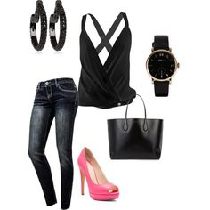 """""""casual outfit"""" by vicinogiovanna on Polyvore"""