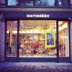 A trip to Helsinki would not be complete without a visit to the famous Marimekko Flagship Store. Cities In Europe, Marimekko, Helsinki, Finland, Store, Board, Character, Shopping, Design