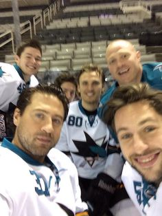 Better than Ellen's at the Oscars. This is Sharks Territory.