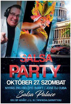 Salsa Palace - Salsa Party Salsa Party, Budapest, Palace, Dj, Workshop, Instagram, Merengue, Reggaeton, Atelier