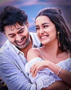 A big surprise for all die hard fans 🔥🔥. Plz watch saaho in your near by theatres Experience it in IMAX On August Best Love Couple Images, Romantic Couple Images, Cute Love Images, Cute Couples Photos, Couples Images, Cute Couple Pictures, Best Love Pics, Beautiful Couple, Couple Photoshoot Poses