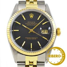 Rolex 【アンティーク品】デイトジャストRef160166年製コンビ 時計 Watch Antique ¥226000yen 〆05月26日