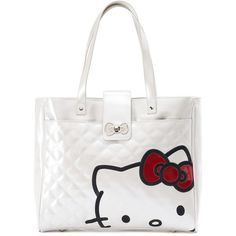 Gap Women Crazy Stripe Utility Tote ($50) ❤ liked on Polyvore ... : hello kitty quilted purse - Adamdwight.com