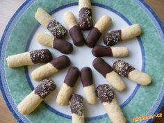 Máčené kokosové tyčky
