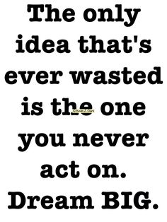 #KJACDesigns #Cafepress #GiftShop Act On Your #Ideas #DreamBig #Motivational & #inspirational #Gifts for #Family #Friends #Groups #Teams #Schools or #Companies Find it at http://www.cafepress.com/dd/83783319 via @cafepressinc