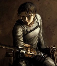 His nose is off, but otherwise great artwork | Levi | SNK