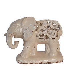 Take a look at this Ornate Elephant Sculpture by Three Hands Corporation on #zulily today!