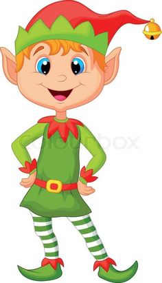 cartoon elves | 8104887-231919-cute-cartoon-and-happy-looking-christmas-elf.jpg