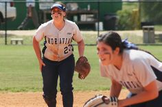The Moravian College softball team at the National Training Center in Clermont, Florida.