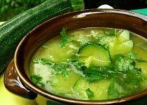 Cuketová polévka s mladým česnekem a rýží 20 Min, Palak Paneer, Ham, Soup, Ethnic Recipes, Hams, Soups