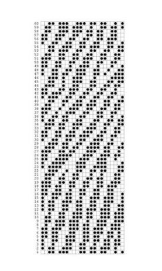 "Photo from album ""Перфокарты"" on Yandex. Knitting Machine Patterns, Knitting Charts, Knitting Stitches, Knitting Designs, Tapestry Crochet Patterns, Weaving Patterns, Mosaic Patterns, Stitch Patterns, Crochet Chart"