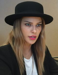 """Lauren German, now Chloe Dancer in the new television series """"Lucifer"""" (Remember her as Leslie Shay (""""Shay"""") on Chicago Fire?) @LaurenGerman #LaurenGerman @Lucifer #Lucifer #television_series #television_drama #DCComics"""