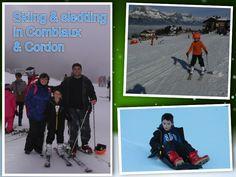 #Skiing & #Sledding in #cordon & #Comblaux #Roadtrip #France #FamilyFun #Kids #Travel