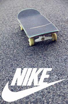 Nike // Fond d'ecran // Iphone Wallpaper // Tendance // Skateboard Road