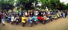 Surabaya vespa Moods mayday