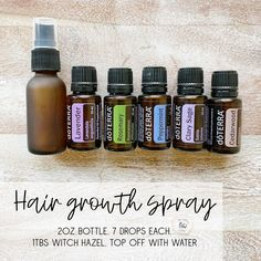 I've gotten tons of requests for this one! It's great to help thicken the hair and stimulate new hair growth. Just ask my stylist my hair… Essential Oil Spray, Essential Oils For Hair, Essential Oil Diffuser Blends, Young Living Essential Oils, Doterra Peppermint, New Hair Growth, Aromatherapy Oils, Doterra Essential Oils, Perfume