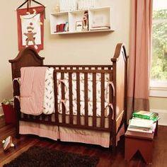 Sock Monkey Crib Bedding Set | Sock Monkey Baby Bedding | Carousel Designs