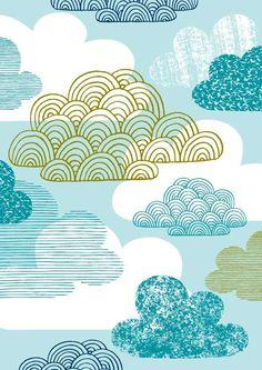 Blue Clouds,