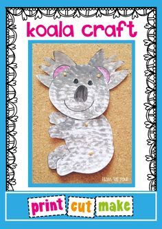 Koala Craft freebie