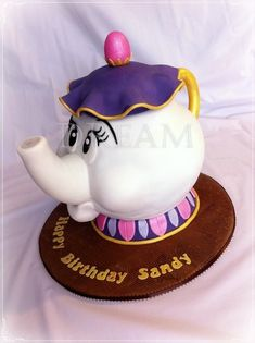 Mrs Potts!! by Dream Cakes by Robyn (4/13/2013) View details here: http://cakesdecor.com/cakes/58340