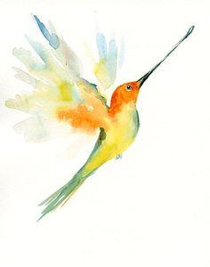 CUSTOM of your favorite ANIMAL Original watercolor painting 10X8 inch $35