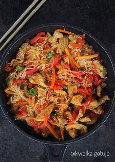 Phad Thai, China Food, Asian Recipes, Ethnic Recipes, Japchae, No Bake Cake, Curry, Food And Drink, Menu