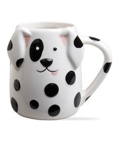 Look at this Spotted Dog Mug on #zulily today!