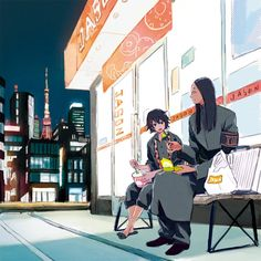 Hanbei and Suzuya