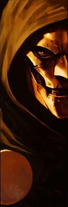 Doctor Doom by Marko Djurdjevic Comic Book Villains, Marvel Villains, Marvel Dc Comics, Comic Books Art, Comic Art, Victor Von Doom, Ghost Rider, Doctor Doom, Fantastic Four Villains