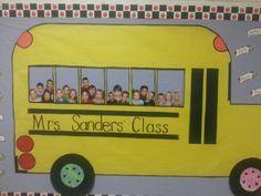 School bus board- perfect for the beginning of the year!