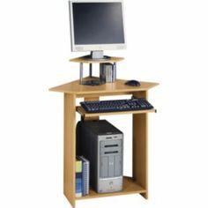 1000 images about small corner computer desk on pinterest. Black Bedroom Furniture Sets. Home Design Ideas
