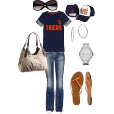 game day Detroit Tigers