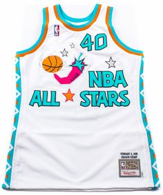 PACKER SHOES X MITCHELL & NESS – 1996 NBA ALL-STAR GAME JERSEY – SHAWN KEMP EDITION