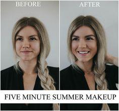 Five-Minute Makeup for Moms + Physicians Formula & Walmart Giveaway - Living in Color