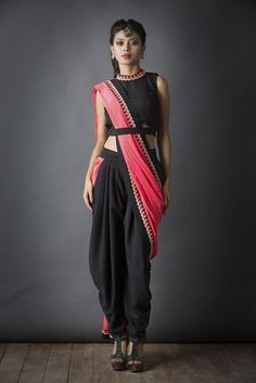 Dhoti saree More